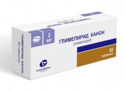 Глимепирид-Канон, табл. 2 мг №30