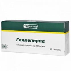 Глимепирид, табл. 4 мг №30